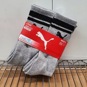 Puma Cool Cell Cushioned Crew Socks